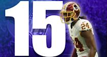 <p>Washington is in first place and, with a favorable schedule, don't be too shocked if we see an 8-3 Redskins team traveling to the Eagles for a big Dec. 3 showdown. (Josh Norman) </p>