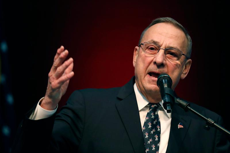 "Maine's Republican governor, Paul LePage, blocked voter-approved measures to raise the minimum wage and expand Medicaid. When a judge ordered him to expand Medicaid, LePage said he would rather ""go to jail."" (Photo: ASSOCIATED PRESS)"