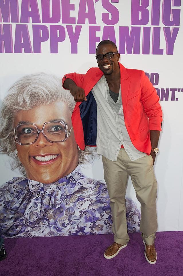 "<a href=""http://movies.yahoo.com/movie/contributor/1809886895"">Lance Gross</a> attends the Los Angeles premiere of <a href=""http://movies.yahoo.com/movie/1810171903/info""><a>Tyler Perry's Madea's Big Happy Family</a> on April 19, 2011.</a>"