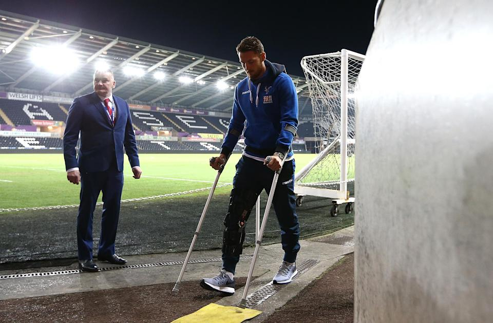 Connor Wickham remains out for the foreseeable future, potentially leaving Palace in the lurch in attack
