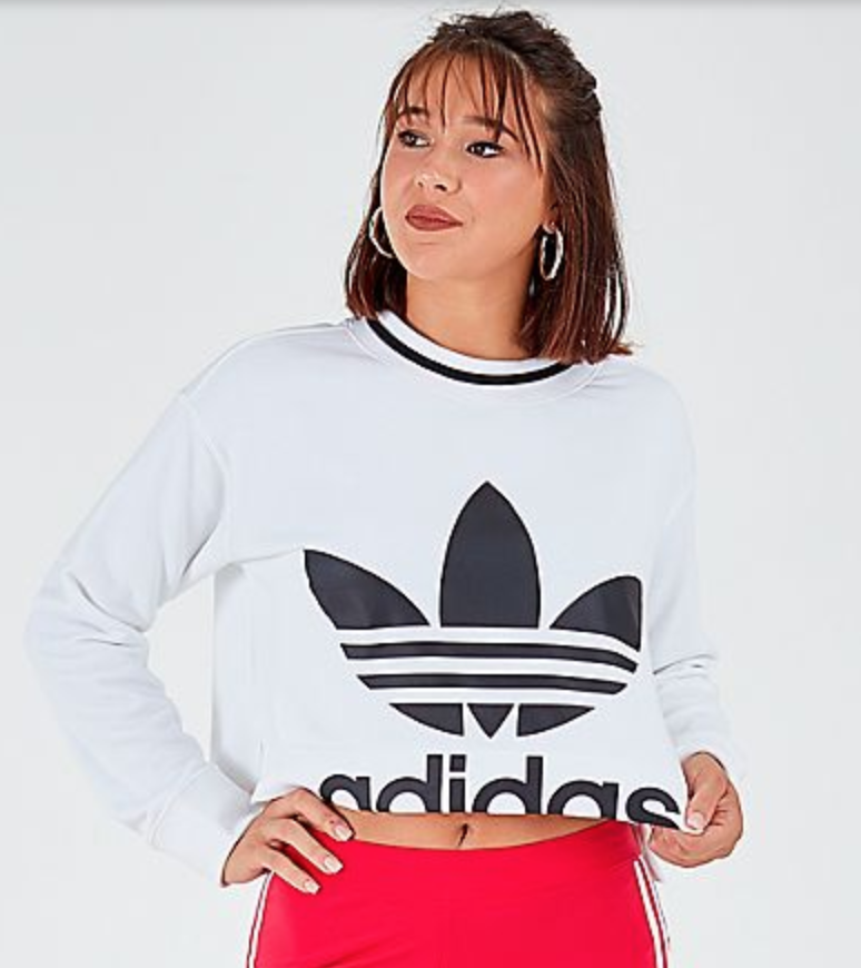 Women's Adidas Originals Cropped Sweatshirt