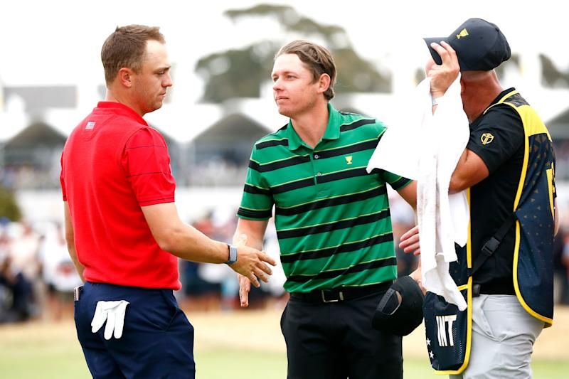 Smith's singles win over Justin Thomas at the Presidents Cup was a confidence booster.