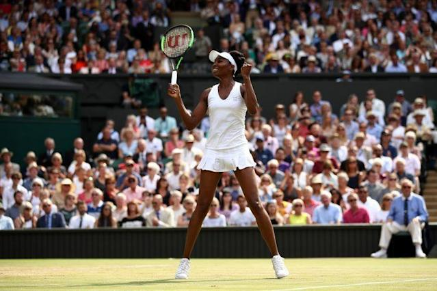 "<a class=""link rapid-noclick-resp"" href=""/olympics/rio-2016/a/1121027/"" data-ylk=""slk:Venus Williams"">Venus Williams</a> could become the oldest woman to win a major. (Getty)"