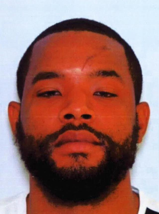 <p>Mug shot of Radee Labeeb Prince, suspected of shooting five people in the Emmorton Business Park in Edgewood, Md., on Oct. 18, 2017. (Photo: MD State Police) </p>