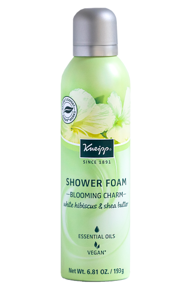 """<h3><strong>Kneipp</strong> Almond Blossom Shower Foam</h3> <p>For those who shave the bikini area, Dr. Mudgil suggests a few in-shower tweaks to help cut down on bikini rash. To start, use a new, <a href=""""https://www.refinery29.com/en-us/best-razor-for-women"""" rel=""""nofollow noopener"""" target=""""_blank"""" data-ylk=""""slk:sharp razor"""" class=""""link rapid-noclick-resp"""">sharp razor</a> (whether you prefer the drugstore multi-blade options or a single blade) and a generous dose of shaving cream, like this foam, which turns into a cream-like consistency upon contact with skin. Then, try giving your bikini area a contrast shower. """"Shaving while taking a hot or warm shower helps relax the muscles under the skin, open pores, and soften hair, which makes shaving easier and less traumatic,"""" he says. """"Rinsing with cold water <em>after</em> shaving helps soothe the skin and close pores, which reduces post-shaving irritation.""""</p> <br> <br> <strong>Kneipp</strong> White Hibiscus & Shea Butter Shower Foam, $16, available at <a href=""""https://www.kneipp.com/us_en/products/white-hibiscus-shea-butter-shower-foam-blooming-charm"""" rel=""""nofollow noopener"""" target=""""_blank"""" data-ylk=""""slk:Kneipp"""" class=""""link rapid-noclick-resp"""">Kneipp</a>"""