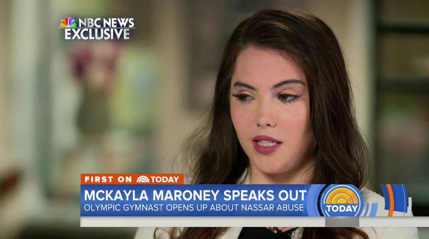 McKayla Maroney speaks out about abuse from Larry Nassar in a new<em> Dateline</em> segment. (Photo: NBC News)