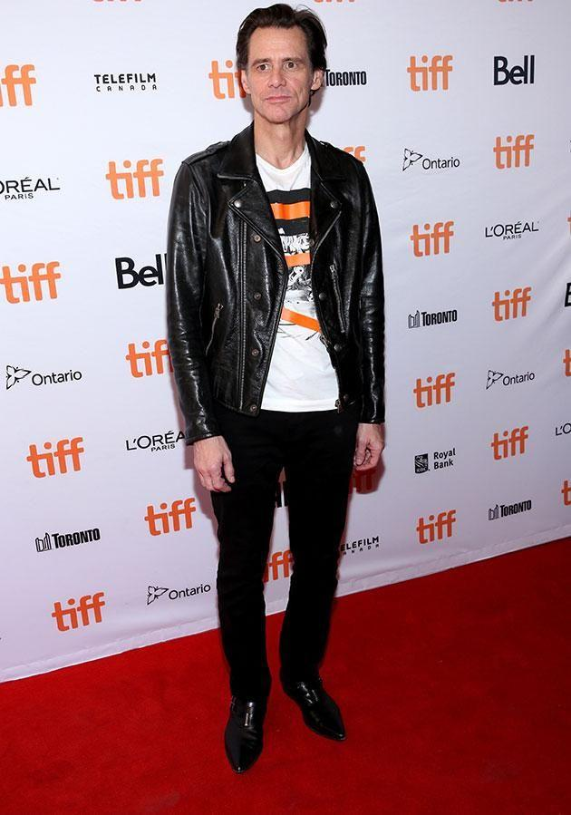 Jim at the Toronto Film Festival. Source: Getty