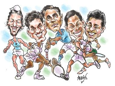 """India could be on track to becoming a sports superpower """" if political parties keep off the field"""
