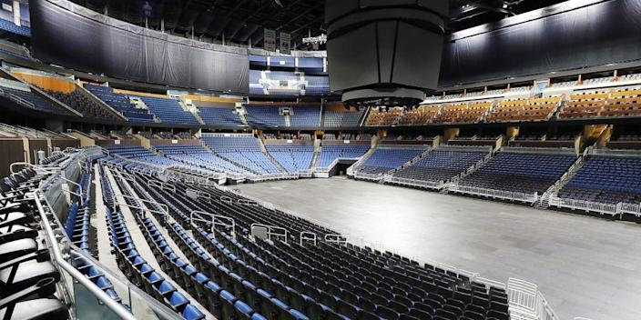 "Amway Center in Orlando, Florida, home of the NBA's Orlando Magic. <p class=""copyright"">Stephen M. Dowell/Orlando Sentinel/Tribune News Service via Getty Images</p>"