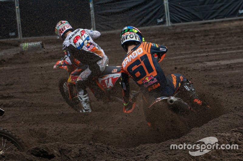 "Jeffrey Herlings, Red Bull KTM Factory Racing y Jorge Prado, Red Bull KTM Factory Racing<span class=""copyright"">Ray Archer</span>"