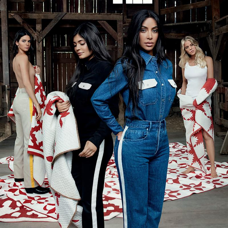 Kim Kardashian West and Her Entire Family Star in Calvin Klein's New #MyCalvins Campaign