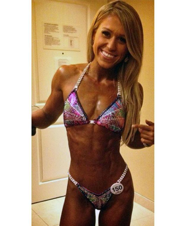 The former bodybuilder decided to relax her training regime after she suffered from body image issues. Photo: Caters