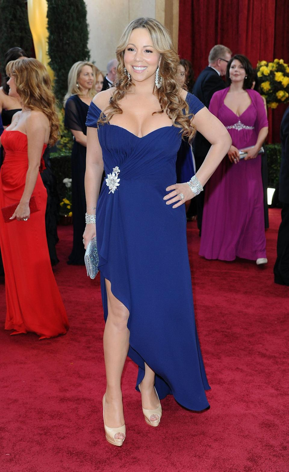 Mariah looking like her usual (fabulous) self. (Photo: Getty Editorial)