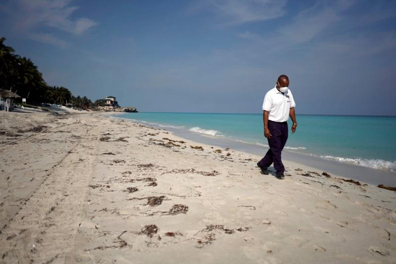 Sea, sand and social distancing: Caribbean reopens to tourism