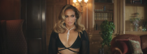 <p>J.Lo turns up the heat in Yeprem jewels, a Cong Tri lingerie set, and Mugler tights.</p>