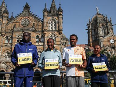 Cosmas Lagat (left) will be headlining the elite men's field at the Mumbai Marathon this Sunday