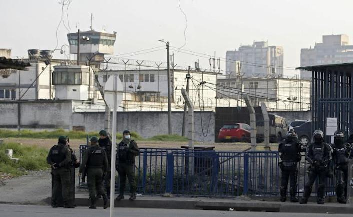 Justice Minister Margarita Cabello described the violence at the Modelo prison in Bogota as an attempted mass breakout (AFP Photo/DANIEL MUNOZ)
