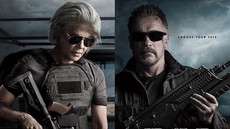 Linda Hamilton and Arnold Schwarzenegger will return to the 'Terminator' franchise in new film 'Dark Fate'. (Credit: 20th Century Fox)