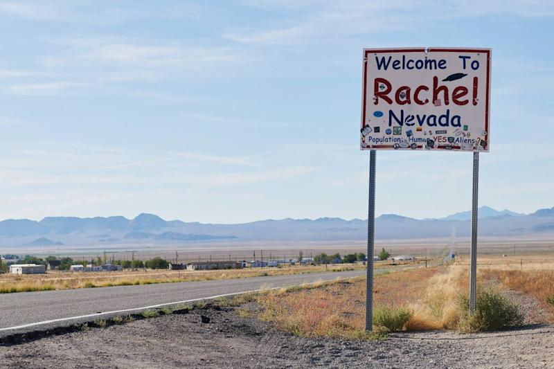 Rachel, Nevada. Population: 54. | Bridget Bennett/Getty Images