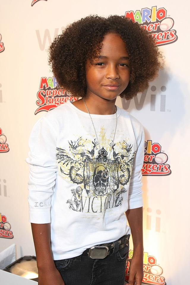 """<a href=""""http://movies.yahoo.com/movie/contributor/1808510667"""">JADEN SMITH</a>  Age: 10  Last Project: <a href=""""http://movies.yahoo.com/movie/1809966785/info"""">The Day the Earth Stood Still</a>  Upcoming Project: Untitled Karate Kid Remake  Total Domestic Box Office Gross: $241,801,573   Jaden debuted opposite his dad, Will Smith, in """"<a href=""""http://movies.yahoo.com/movie/1808722062/info"""">The Pursuit of Happyness</a>,"""" and now he is set to star in a remake of """"<a href=""""http://movies.yahoo.com/movie/1800084699/info"""">The Karate Kid</a>,"""" which will be produced by dad and will co-star his mom. Apparently, the family that makes movies together, stays together."""