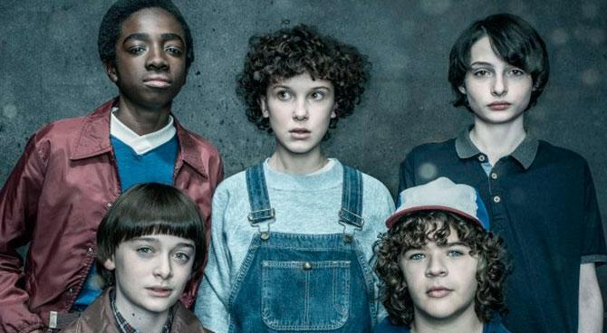 Millie has found fame as Eleven in Stranger Things. Copyright: [Netflix]