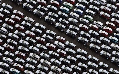 Cars awaiting export - Credit: Getty