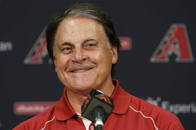 Tony La Russa is leaving the Diamondbacks after four seasons. (AP Photo)