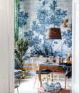 """<p>Wallpaper is not just limited to intricately repeated pattern, you can create great scenes in large swathes across your wall with a mural wallpaper. This Azure Mural wallpaper by Mind the Gap explores an old Mediterranean port full of interesting details that keep you coming back to explore. </p><p>Pictured: <a href=""""https://mindtheg.com/uk/products/wallpaper/azure-mural-wallpaper.html?___SID=U"""" rel=""""nofollow noopener"""" target=""""_blank"""" data-ylk=""""slk:Azure Mural Wallpaper"""" class=""""link rapid-noclick-resp"""">Azure Mural Wallpaper</a>, Mind the Gap</p>"""