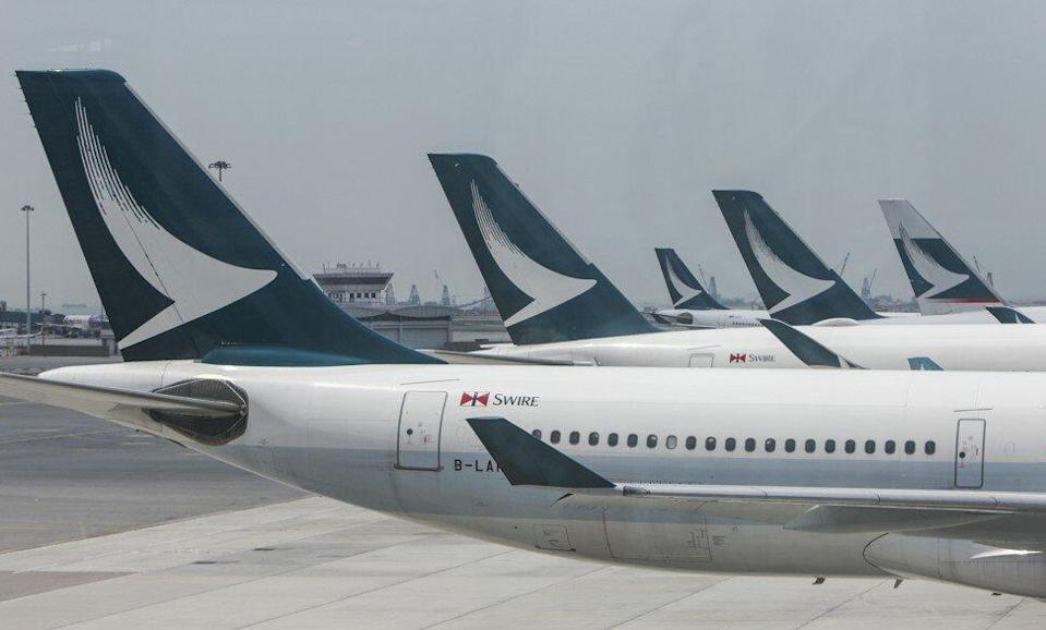 Cathay is expected to post heavy losses throughout 2021. Photo: Winson Wong