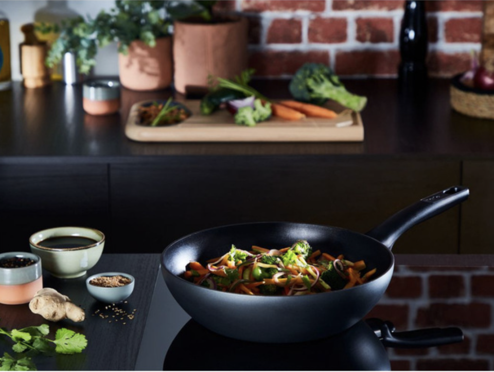 Tefal Ultimate Non-Stick Induction Wok, $69.97