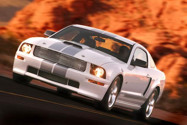 Flashy cars like Ford's Shelby Mustang GT appeal to thieves.