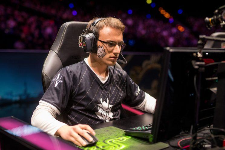 Perkz at the 2017 EU LCS Spring final (lolesports)