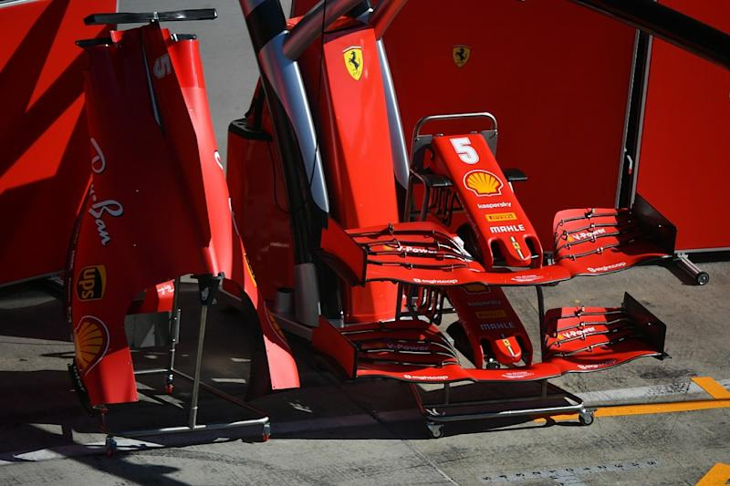 Ferrari brings new front wing to Styrian Grand Prix