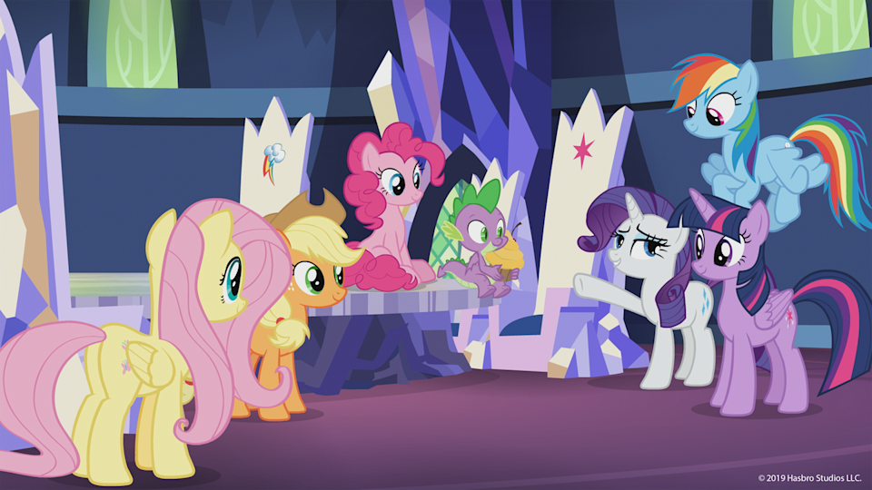 "<p>It's better than you remember from your childhood: Six ponies, all with different interests and abilities, learn a lesson about friendship in every episode. If your kids make it through all eight seasons, know that there's a ninth one aired on TV already, and should make its way to Netflix at some point.</p><p><a class=""link rapid-noclick-resp"" href=""https://www.netflix.com/title/70234440"" rel=""nofollow noopener"" target=""_blank"" data-ylk=""slk:WATCH NOW"">WATCH NOW</a> </p>"
