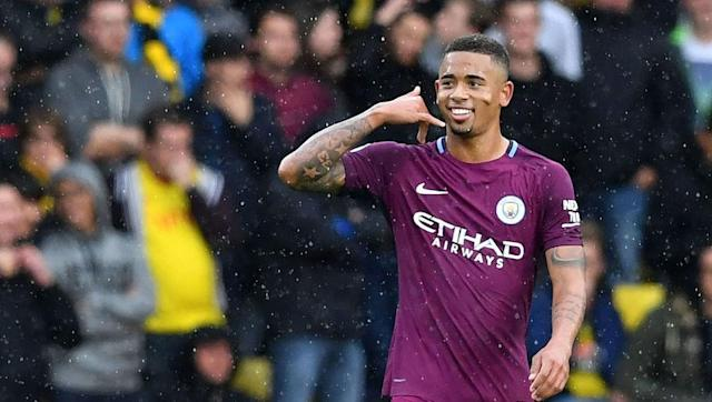 <p>Gabriel Jesus and Sergio Aügero's sizzling South American strike partnership is threatening to make a front two trendy again, after playing one up top has been in vogue for a number of years.</p> <br><p>While Aügero has scored more goals, his young apprentice Jesus seems the more likely to push for the award this season, and has netted four league goals for the Citizens for far this season.</p> <br><p>The 20-year-old is turning into one of Europe's most promising forwards, and he will certainly be among the runners and riders for this year's Golden Shoe award.</p>