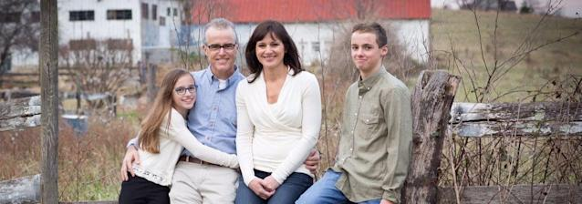 Dr. Jill McCabe and family. (Photo: drjillmccabe.com)