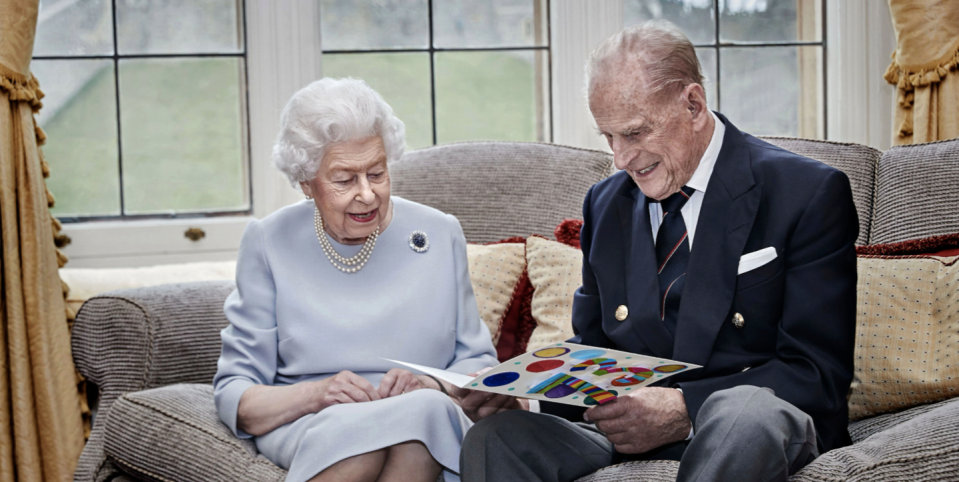 The Queen & Prince Philip Share a Sweet New Portrait for Their 73rd Anniversary