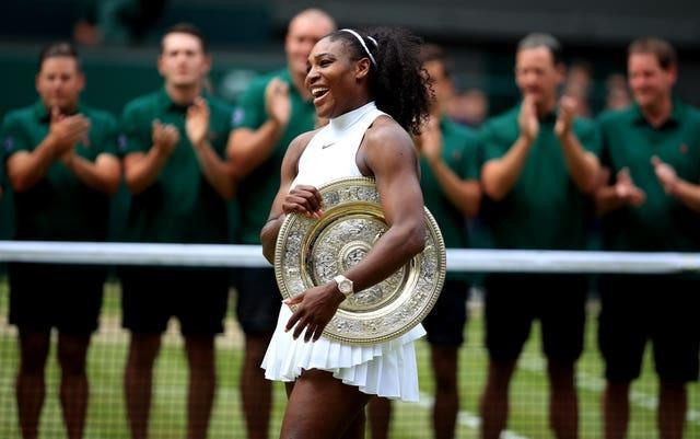 Williams will be bidding for her eighth Wimbledon singles title this summer