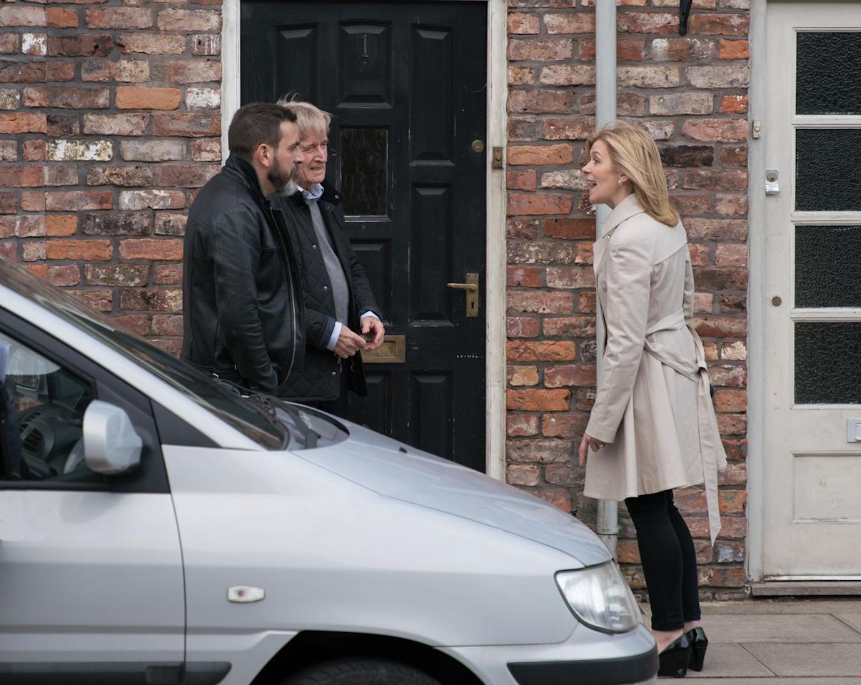 <p>Peter is on a downward spiral as Carla's disappearance continues to take its toll.</p>