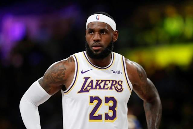 LeBron James suggested Daryl Morey 'wasn't educated' on the situation in Hong Kong said he should have kept quiet about it (AFP Photo/Sean M. Haffey)