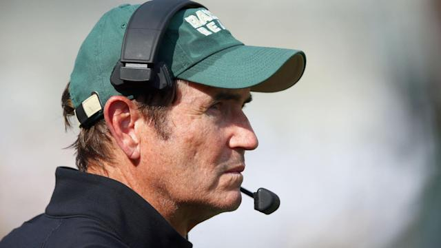 The former Baylor made a surprise appearance at a UAB coaching clinic.