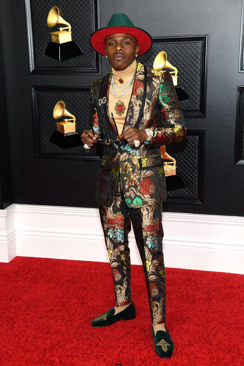 <p>DaBaby in Dolce & Gabbana.</p>