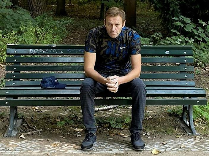 Alexei Navalny has called for targeted sanctions against Putin supporters