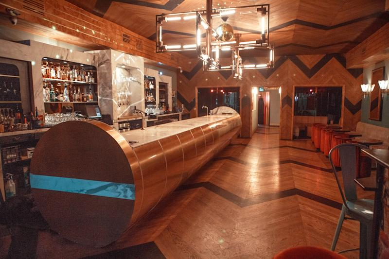 Actor Darren Criss and his wife, Mia Criss, are the owners of this Hollywood piano bar.