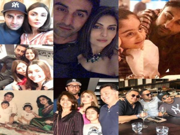 Birthday collage made by Riddhima Kapoor Sahni for actor Ranbhir Kapoor (Image Source: Instagram)