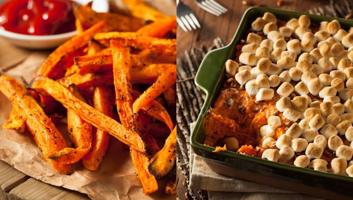 4 ways to cook sweet potatoes this Thanksgiving