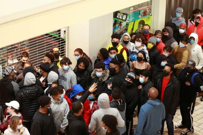 Black Friday at the Tysons Corner Center
