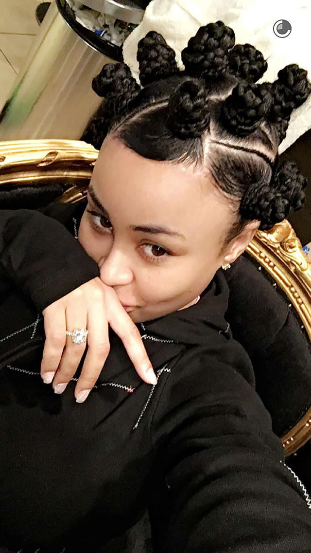 Blac Chyna Debuts New Hairstyle, Continues to Train Rob ...