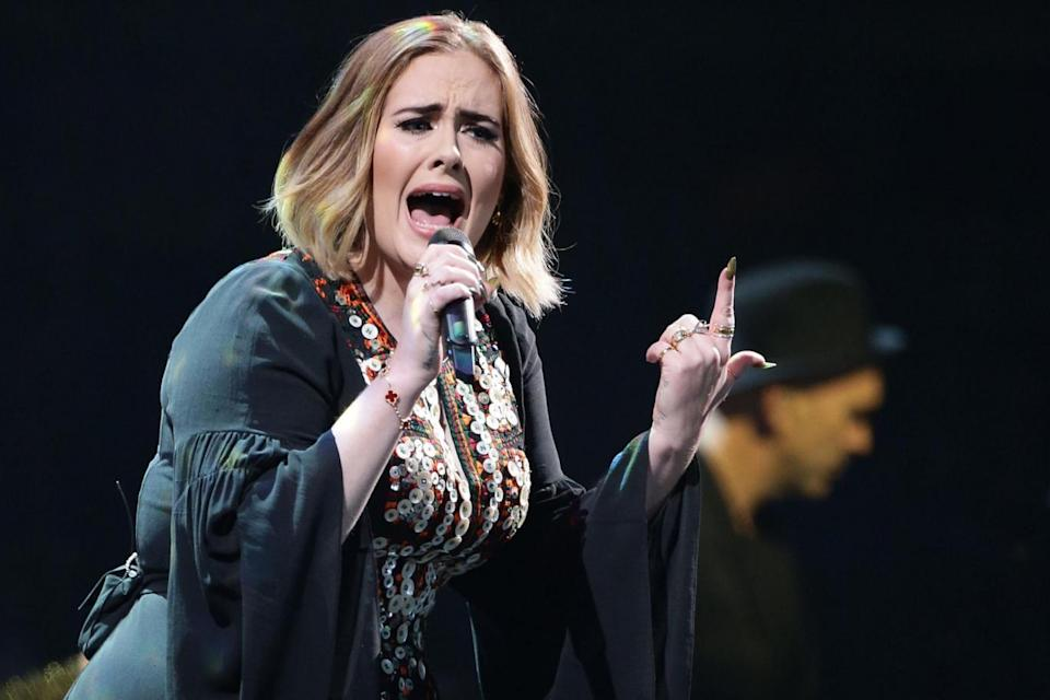 Adele was among musicians paid a record £605m in royalties this year (PA Wire/PA Images)