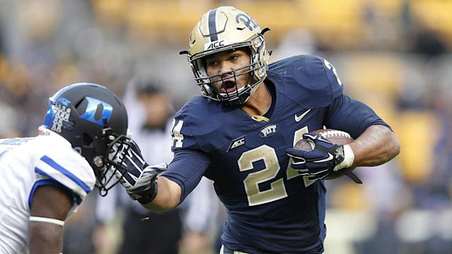 The Steelers drafted James Conner in the third round of the NFL Draft on Friday. It's the perfect pick for them.